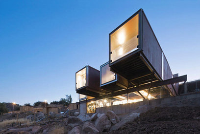 Casa Oruga: Containers for Nature | sustainable architecture | Scoop.it