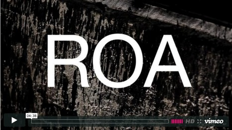 ROA @White Walls (video)   World of Street & Outdoor Arts   Scoop.it