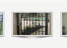 Iron Gates, Railings, Fences, Security Doors & More | Ornamental Iron | Wrought iron fencing | Driveway gate | Scoop.it