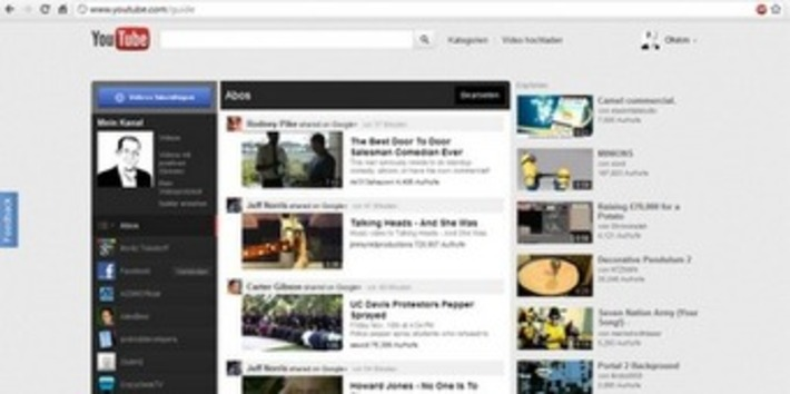 Do you want the brand new YouTube Design? - Here we go! | Machinimania | Scoop.it