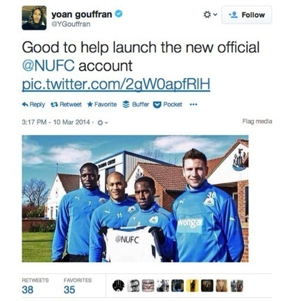 "Welcoming @NUFC to the World of Social Media | L'information Quotidienne ""Sport & Digital"" 