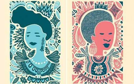 From Pompadours to Fades, New Art Celebrates Black Women's Hair - COLORLINES | Human Writes | Scoop.it