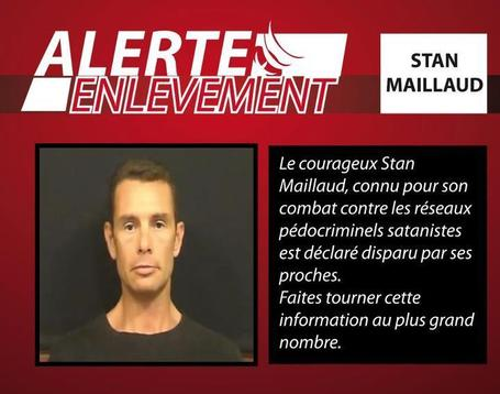 Disparition inquiétante de Stan Maillaud | BEST OF NEWS | Scoop.it