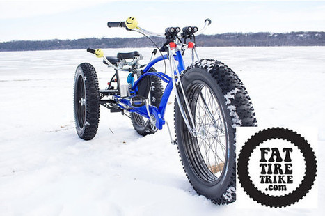 Fat Tire Trike : le tricycle n'a jamais été aussi fashion | ON-ZeGreen | Scoop.it