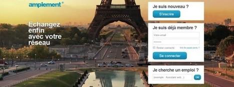 Amplement.fr concurrence Viadeo et Linkedin | Social Media l'Information | Scoop.it