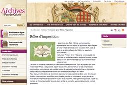 GénéInfos: Retrouver 47.000 chefs de famille en Artois avec les rôles des impôts | GenealoNet | Scoop.it