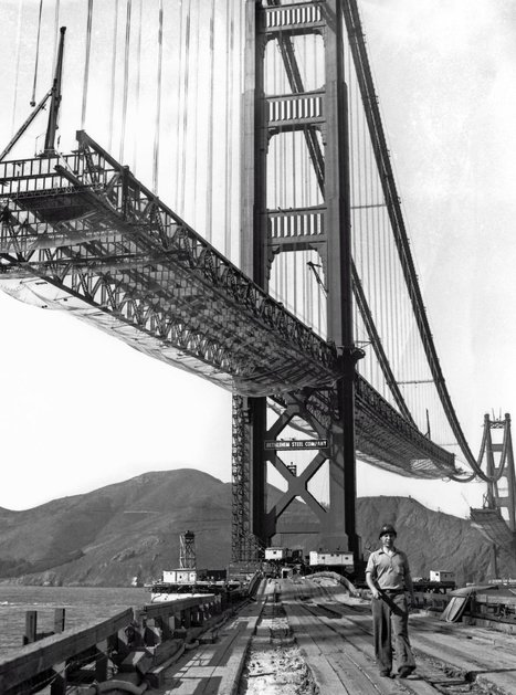 Golden Gate Bridge builders ate special meals to prevent dizziness | CRAKKS | Scoop.it