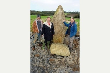GB : Stonehenge-like structure near Camborne stands once more | World Neolithic | Scoop.it