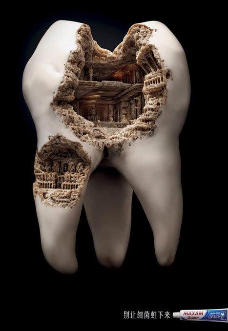 Diş Macunu Reklamı Afişi | Minimal Art: Sadelik, Zeka ve Mizah. | Scoop.it