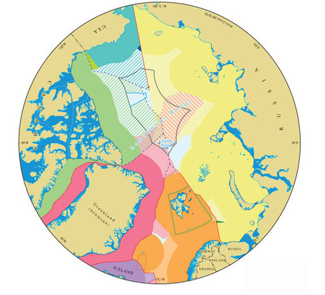 The truth about politics and cartography: mapping claims to the Arctic seabed | Oil and Gas | Scoop.it