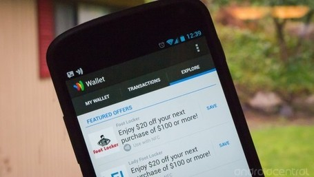 Google Wallet updated with new UI, performance improvements | Android | Scoop.it