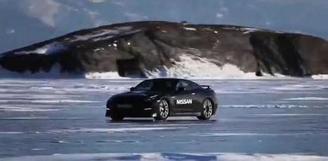 A 295 km/h en Nissan GT-R sur le lac Baïkal (vidéo) | Vroum Vrouumm | Scoop.it