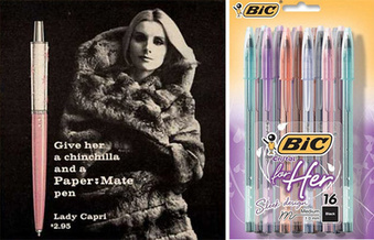 Girlie Pens, Again? Why Ordinary Things Go Pink | Things are changing | Scoop.it