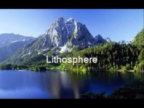 lithosphere- Marissa - TeacherTube | internal earth | Scoop.it