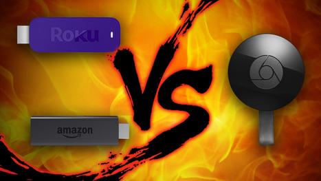 Sunday Showdown: Chromecast vs. Roku Streaming Stick vs. Fire TV Stick   Nerd Vittles Daily Dump   Scoop.it
