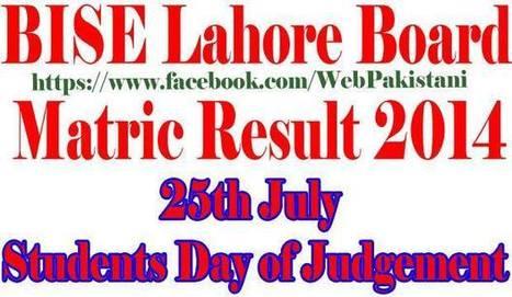 Timeline Photos - BISE Lahore Board   Facebook   Educations Update News   Scoop.it