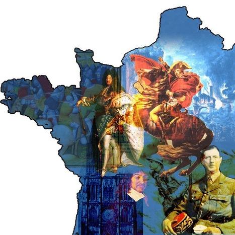 Ils ont gouverné la France, du Roi des Francs au Président Normal | Histoire Familiale | Scoop.it