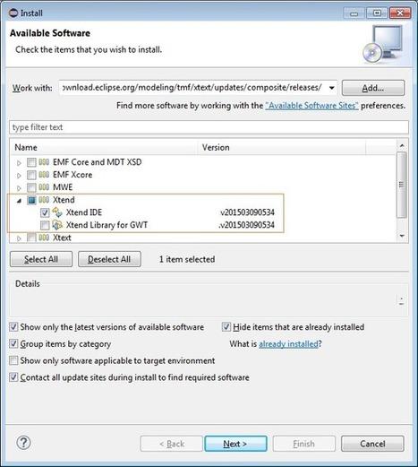 Preparacion de un entorno de desarrollo Xtend - Uqbar-Project | Varios | Scoop.it