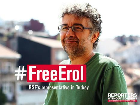 Le correspondant turc de RSF arrêté et emprisonné | DocPresseESJ | Scoop.it