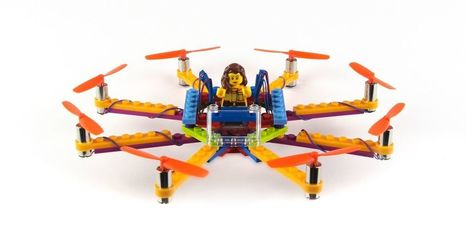 Build your own Lego drone with these affordable kits | ZenStorming - Design Raining Innovation | Scoop.it
