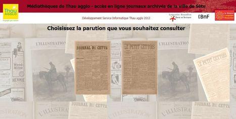 Médiathèques de Thau agglo - accès en ligne aux journaux archivés de la ville de Sète | Nos Racines | Scoop.it