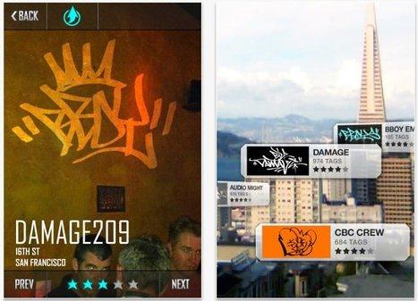 Graffcity | Grafitis de realidad aumentada, la solución de San Francisco a las pintadas [iPhone] | Seetio | Realidad aumentada | Scoop.it