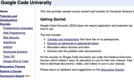 "Google Code University - Google Code | ""#Google+, +1, Facebook, Twitter, Scoop, Foursquare, Empire Avenue, Klout and more"" 