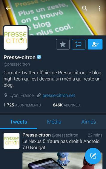 Twitter : le mode nuit est maintenant disponible sur iOS | TIC et TICE mais... en français | Scoop.it