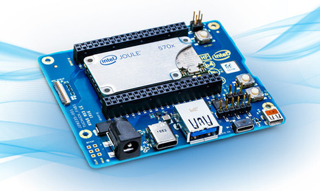Intel Unveils Joule Compute Module and Devkit for IoT based on Atom T5500 & T5700 Processors | Embedded Systems News | Scoop.it