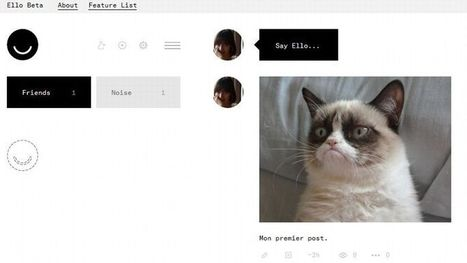Ello, le succès imprévu d'un réseau social sans publicité | Veille : Outils du web 2.0 | Scoop.it