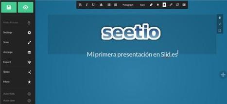 Slid.es | Crea presentaciones online, que puedes ver también offline | ICT4EFL | Scoop.it