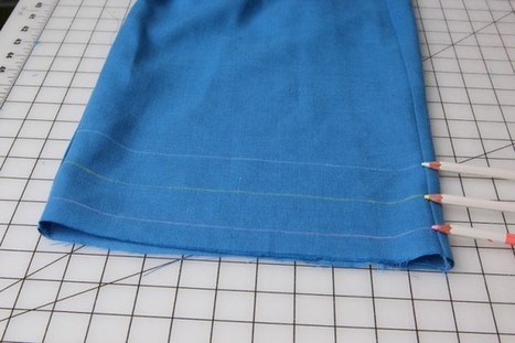 Tutorial: How to sew a blind hem | Coletterie | SCUOLA DI CUCITO | Scoop.it