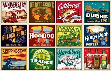 14 Coolest Beer Label Designs You've Ever Seen | Public Relations & Social Media Insight | Scoop.it
