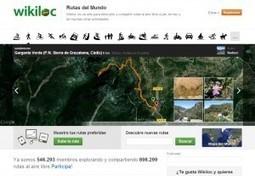Sitios 2.0 imprescindibles: El Wikiloc. Rutas de bici, senderismo, montaña y mucho más | Actualidad Internacional | Scoop.it