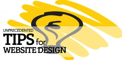 Unprecedented Tips for Website Design | Technology | Scoop.it