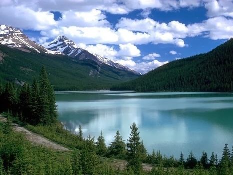 Bluest lake Louise place to visit state of Canada | Beautiful Traveling Places | worlds beautiful place in world | Scoop.it