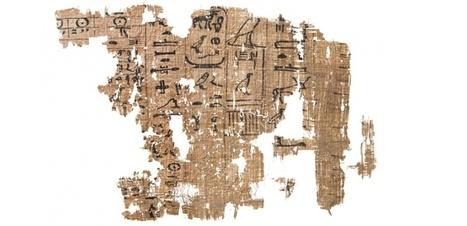 Les extraordinaires papyrus du port de Khéops | L'actu culturelle | Scoop.it