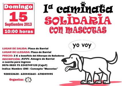 Caminata solidaria con mascotas en Barrial | Noticias Animales [Pet news] | Scoop.it