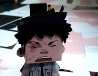 KOREA Comics Character Collaboration papertoy & SCAIF | CRAW | Scoop.it