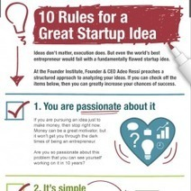 10 Rules to a Great Startup Idea | Visual.ly | digital marketing strategy | Scoop.it