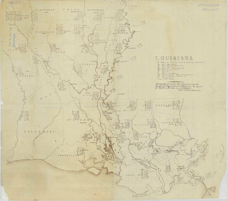 A Mysterious Map of Louisiana   Design Without Borders   Scoop.it