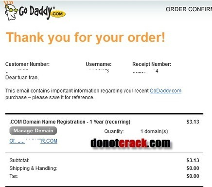 [Discount] Godaddy $2.95 coupon | gtnggrow01 | Free license for you | Godaddy coupon code | Scoop.it