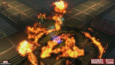 Marvel Heroes Is Heating Up With The Human Torch | MMO News | Marvel Heroes MMO Guide | Scoop.it