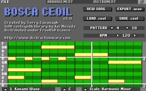 distractionware » Bosca Ceoil | Music Related | Scoop.it
