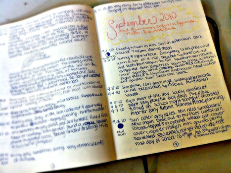 beauty that moves: Journaling the Seasons... at Unplugged Sunday | Journal For You! | Scoop.it