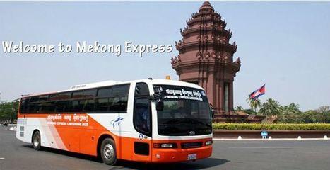 Trajets Phnom Penh – Siem Reap – Hô Chi Minh Ville avec Mekong Express BusLe Mag Krama Krama | Cambodge & Krama | Scoop.it