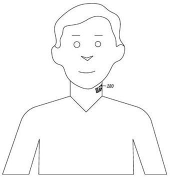 Google patent: THROAT TATTOO with lie-detecting mobe microphone built-in | Digital Footprint | Scoop.it