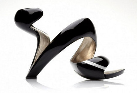 Futuristic Spiral High Heels | Geekologie | Cultural Trendz | Scoop.it