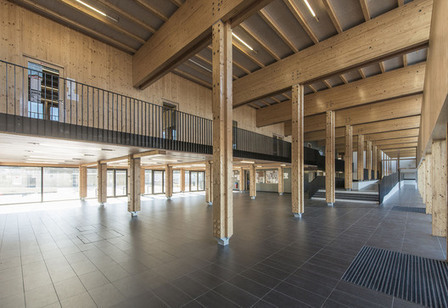 Proudhon Secondary School extension and refurbishment | Building with wood | Scoop.it