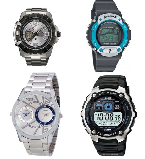 Men Watches Store, Buy Men wrist Watches Online at Best Price - Infibeam.com | Online Shopping Store | Scoop.it